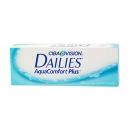 Линзы однодневные aqua dailies comfort plus